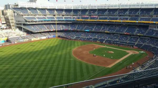 Yankee Stadium, section: 431a, row: 3, seat: 9