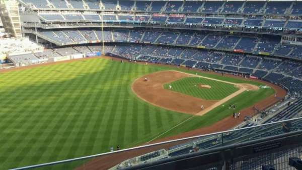 Yankee Stadium, section: 431a, row: 3, seat: 5