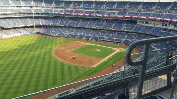 Yankee Stadium, section: 431a, row: 3, seat: 3