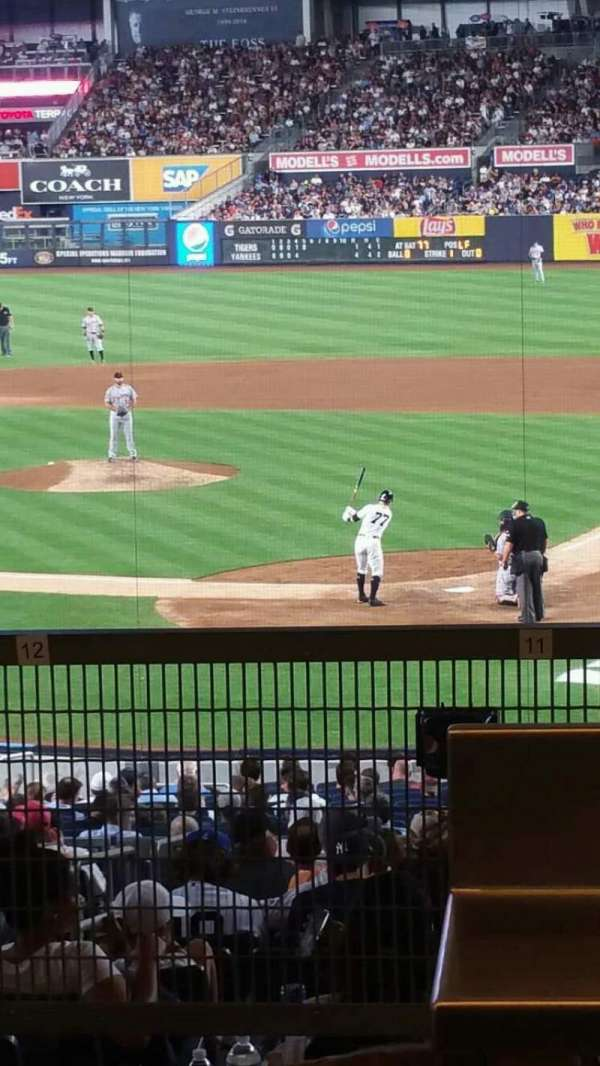 Yankee Stadium, section: 121BS, row: 17S, seat: 9
