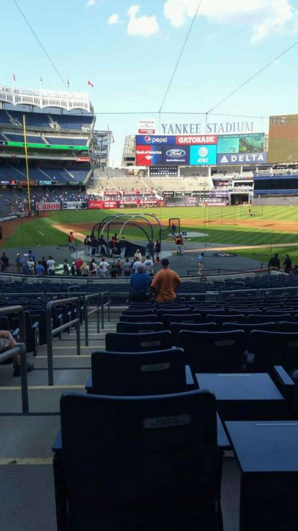 Yankee Stadium, section: 118, row: 14, seat: 10