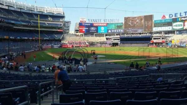 Yankee Stadium, section: 118, row: 11, seat: 8