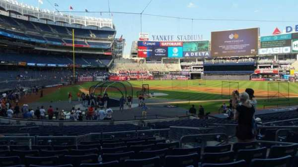 Yankee Stadium, section: 118, row: 10, seat: 6
