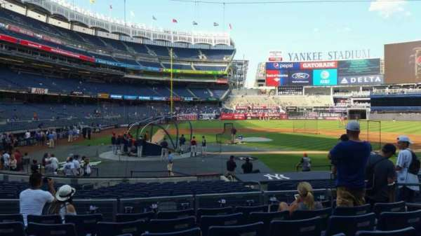 Yankee Stadium, section: 117B, row: 7, seat: 7