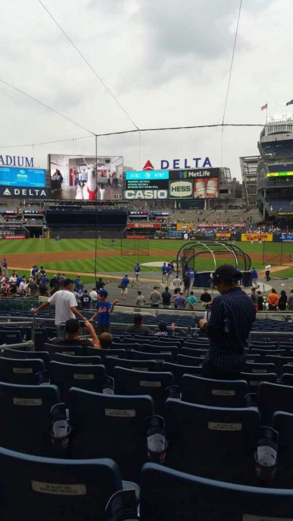 Yankee Stadium, section: 121A, row: 11, seat: 6