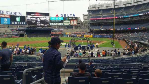 Yankee Stadium, section: 121A, row: 9, seat: 13