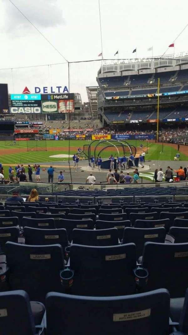 Yankee Stadium, section: 121B, row: 10, seat: 6