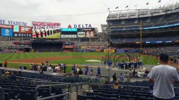 Yankee Stadium, section: 121B, row: 10, seat: 11