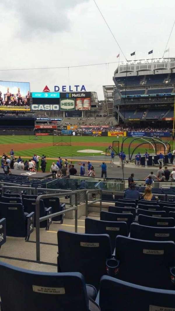 Yankee Stadium, section: 121B, row: 10, seat: 12