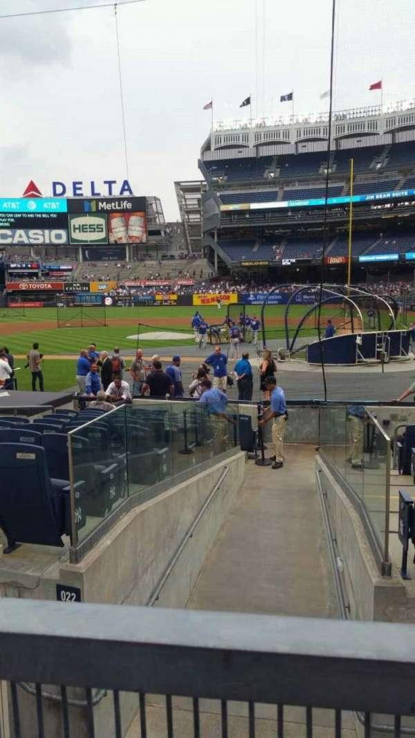 Yankee Stadium, section: 122, row: 3, seat: 2
