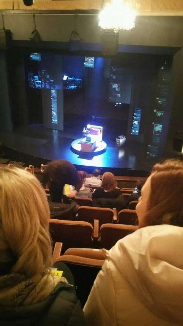 Music Box Theatre, section: Mezzanine, row: J, seat: 12