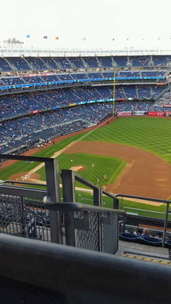 Yankee Stadium, section: 414, row: 7, seat: 25