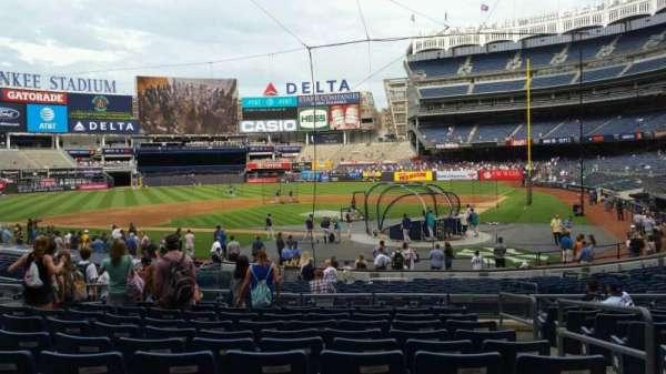 Yankee Stadium, section: 121B, row: 11, seat: 2
