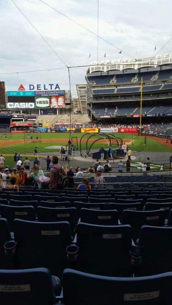 Yankee Stadium, section: 121B, row: 11, seat: 5