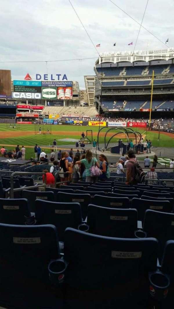 Yankee Stadium, section: 121B, row: 11, seat: 7