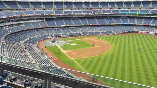Yankee Stadium, section: 409, row: 3, seat: 2