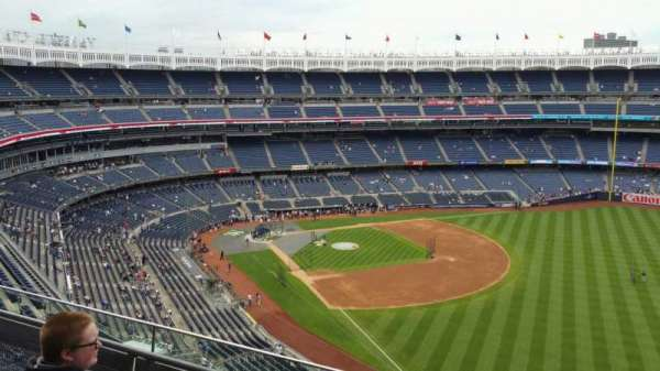 Yankee Stadium, section: 409, row: 3, seat: 4