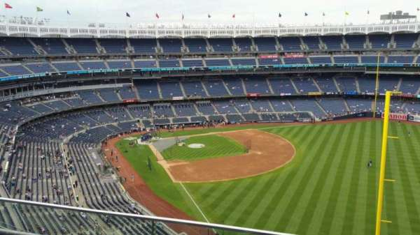 Yankee Stadium, section: 408, row: 2, seat: 4