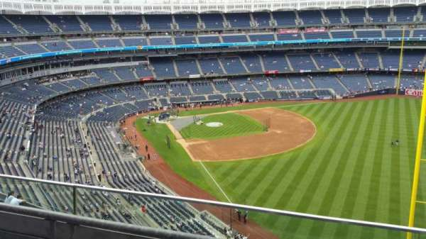 Yankee Stadium, section: 408, row: 2, seat: 6