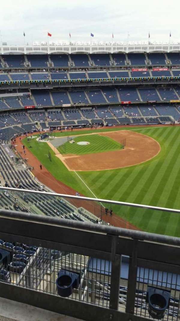 Yankee Stadium, section: 408, row: 2, seat: 11