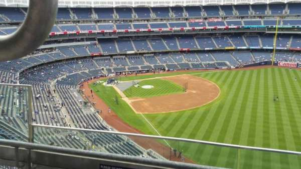 Yankee Stadium, section: 408, row: 2, seat: 15