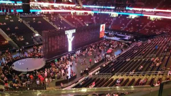 Prudential Center, section: 107, row: 1, seat: 7