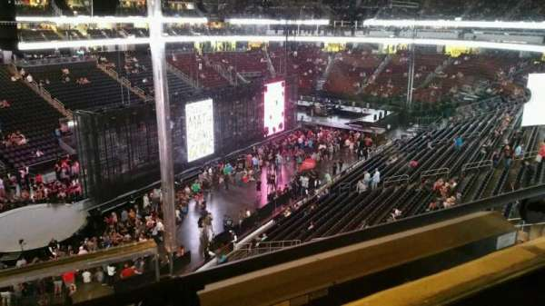 Prudential Center, section: 107, row: 1, seat: 1