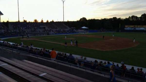 Skylands Stadium, section: 1, row: 14, seat: 1