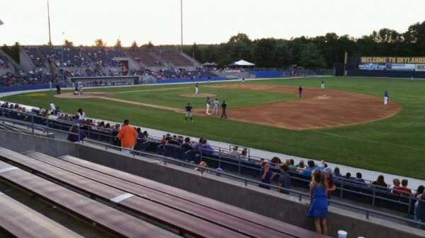 Skylands Stadium, section: 1, row: 14, seat: 2