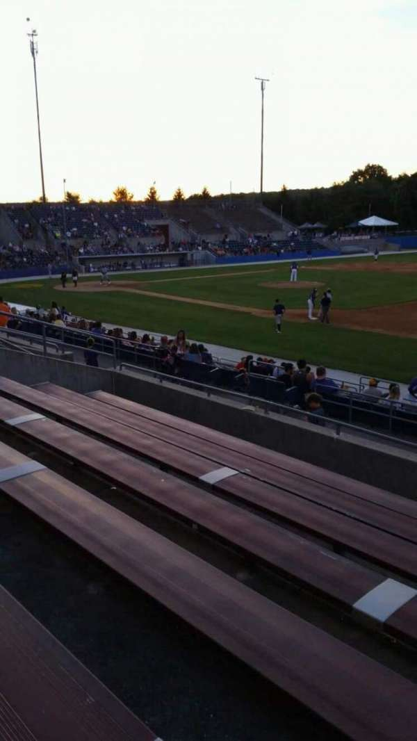 Skylands Stadium, section: 1, row: 14, seat: 3