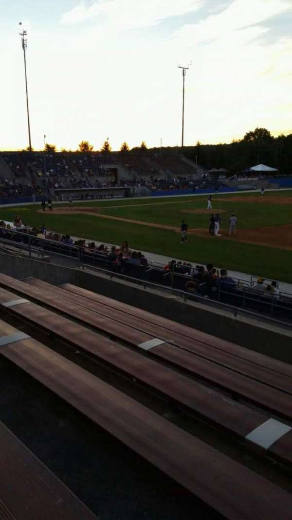 Skylands Stadium, section: 1, row: 14, seat: 4