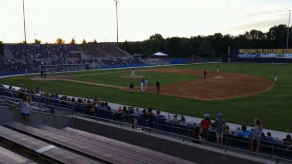 Skylands Stadium, section: 1, row: 14, seat: 5