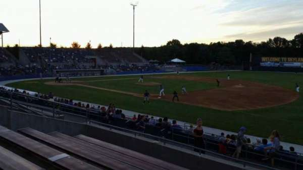 Skylands Stadium, section: 1, row: 14, seat: 6