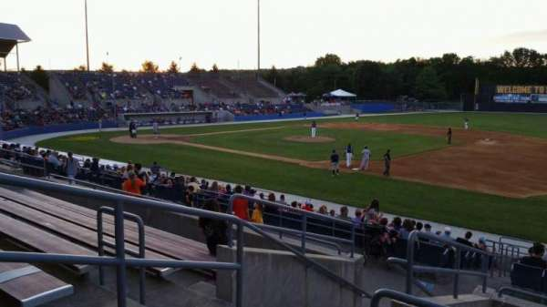 Skylands Stadium, section: 1, row: 14, seat: 18