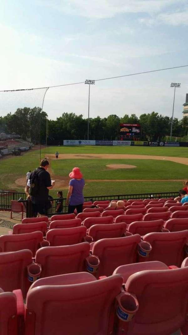 Yogi Berra Stadium, section: KK, row: 10, seat: 2