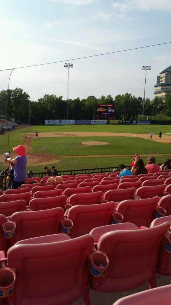 Yogi Berra Stadium, section: KK, row: 10, seat: 4