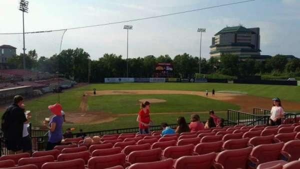 Yogi Berra Stadium, section: KK, row: 10, seat: 5