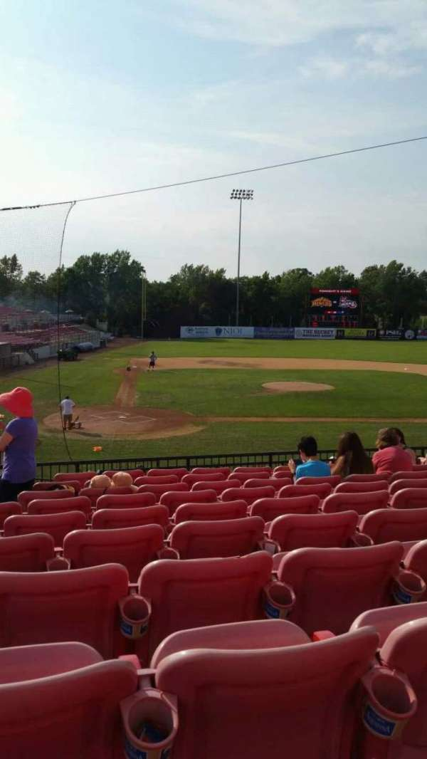 Yogi Berra Stadium, section: KK, row: 10, seat: 6