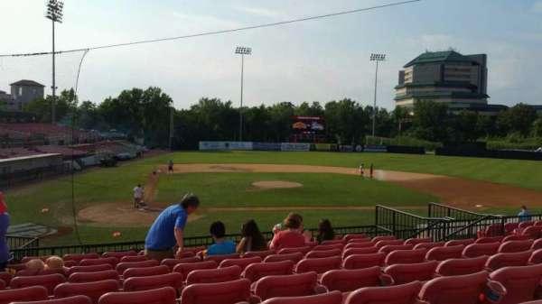 Yogi Berra Stadium, section: KK, row: 10, seat: 8