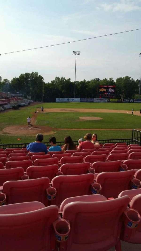 Yogi Berra Stadium, section: KK, row: 10, seat: 9