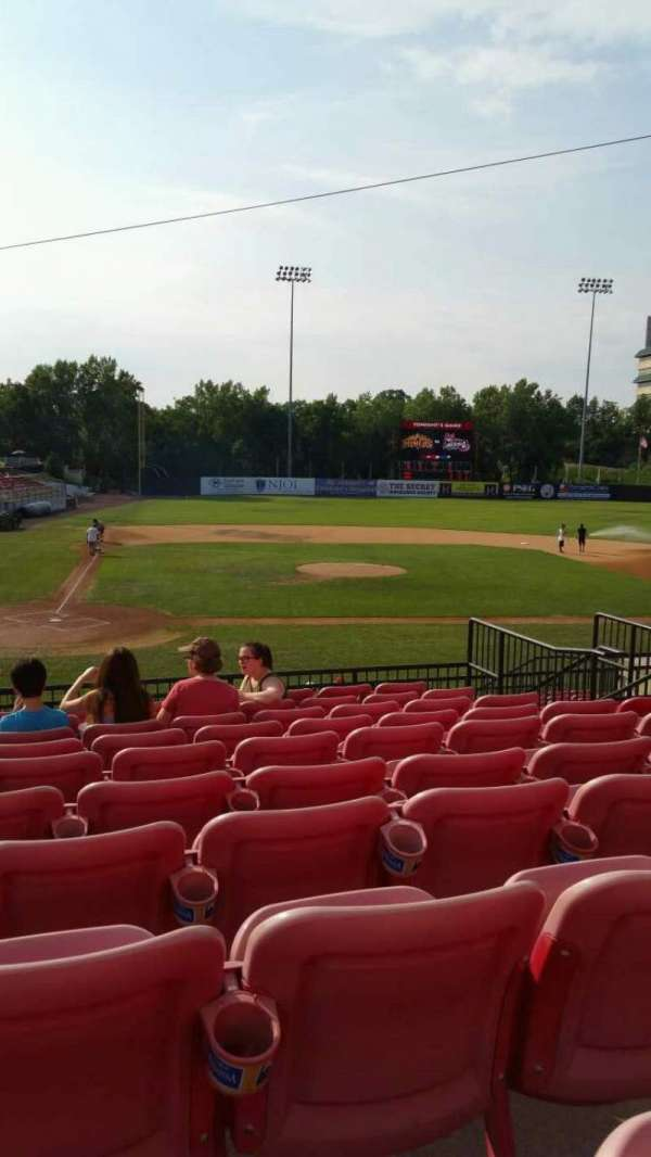 Yogi Berra Stadium, section: KK, row: 10, seat: 11