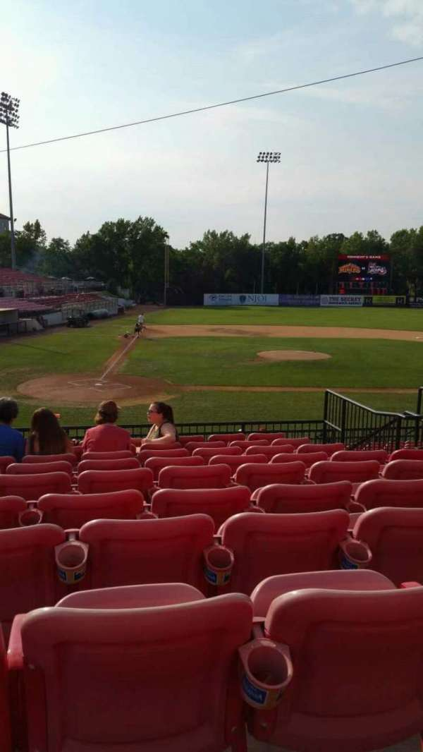 Yogi Berra Stadium, section: KK, row: 10, seat: 13