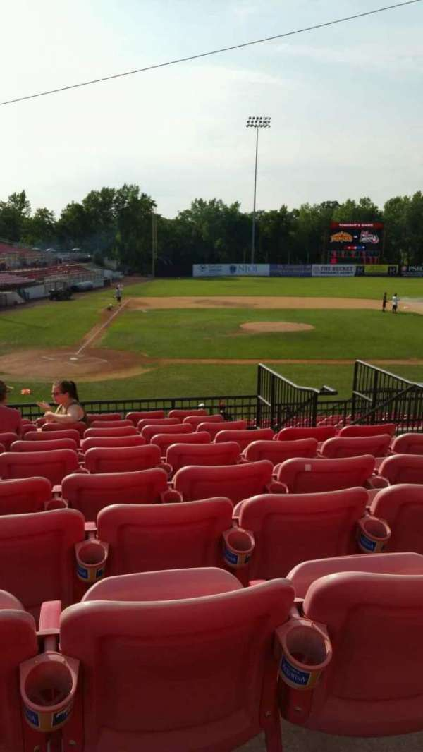 Yogi Berra Stadium, section: KK, row: 10, seat: 15