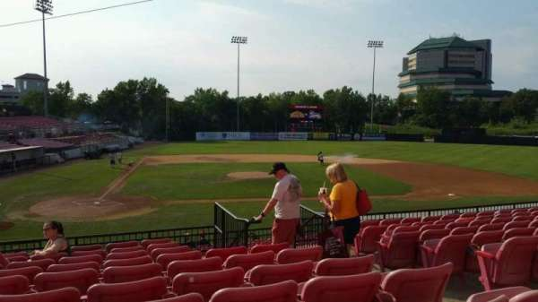 Yogi Berra Stadium, section: KK, row: 10, seat: 16
