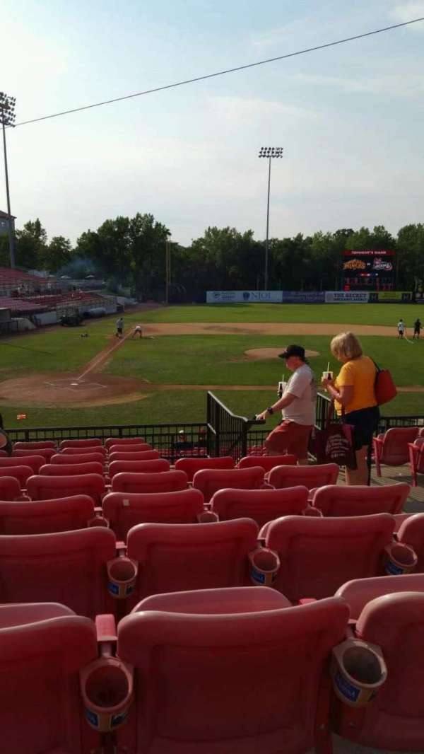 Yogi Berra Stadium, section: KK, row: 10, seat: 17
