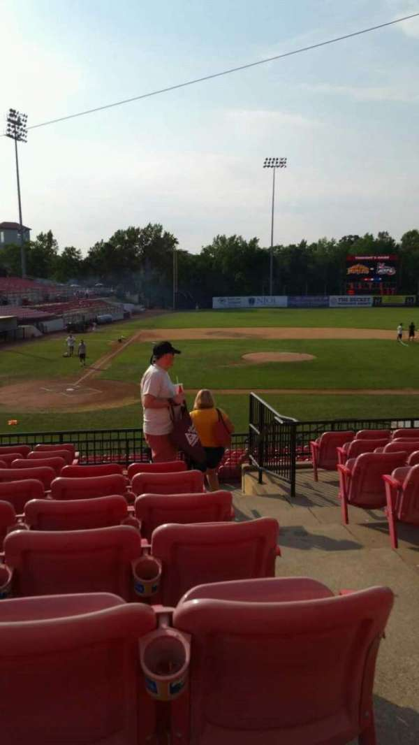 Yogi Berra Stadium, section: KK, row: 10, seat: 19