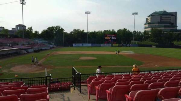 Yogi Berra Stadium, section: KK, row: 10, seat: 20