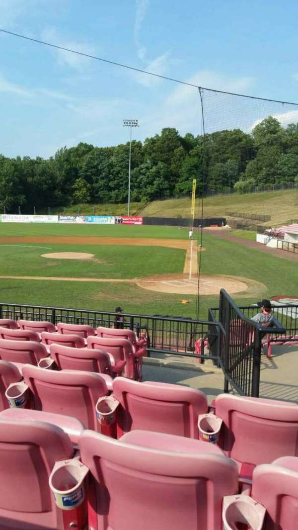 Yogi Berra Stadium, section: FF, row: 7, seat: 17