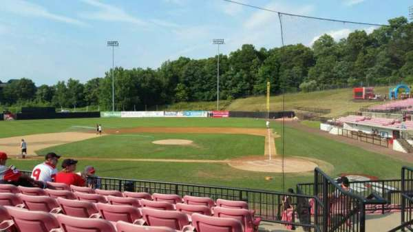 Yogi Berra Stadium, section: FF, row: 7, seat: 16