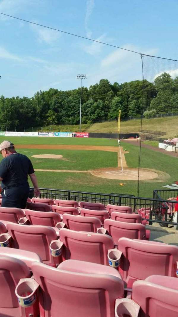 Yogi Berra Stadium, section: FF, row: 7, seat: 15